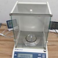 Calibração de balança de precisão